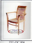 Stacking Dinning Arm Chair