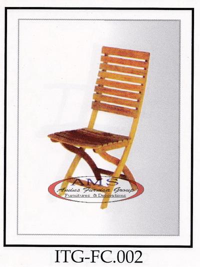 Big Cleverton Folding Chair