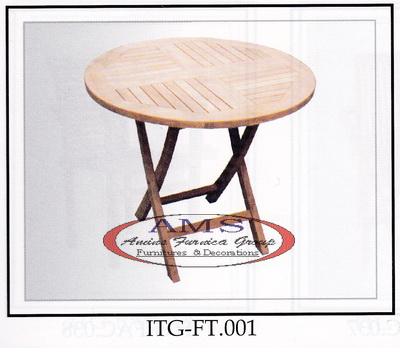 Classic Round Folding Table