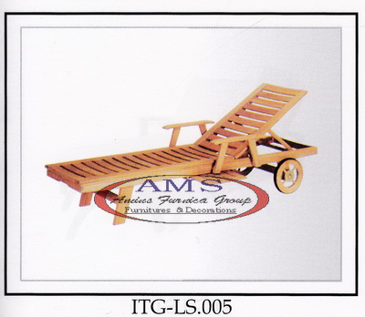 Lounger With Arm Wheel