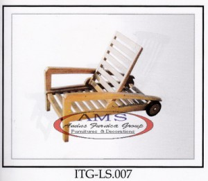 Mini Teak Lounger Jepara